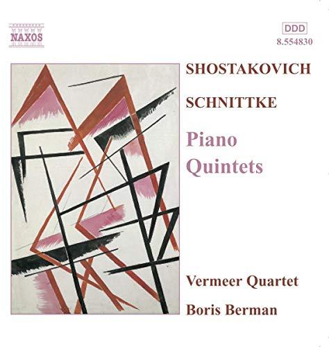Bo Vermeer String Quartet / Berman - Piano Quintets