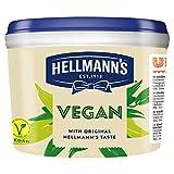 Hellmann's Mayonesa vegana, bañera de catering de 2,6 l