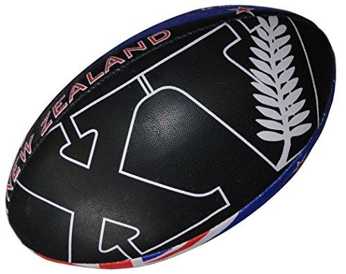 Pallone da rugby Nuova Zelanda – Collezione Supporter – Taglia 5