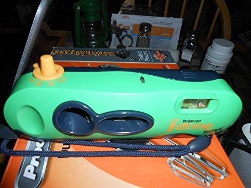 Polaroid I-ZONE cámara de bolsillo: verde traslúcido