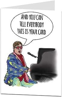 elton john card