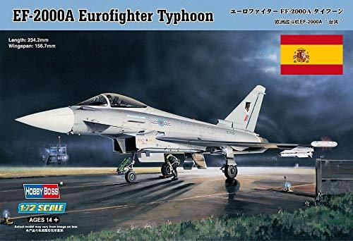 Hobbyboss Avión EuroFighter Typhoon Calcas Españolas, EF-2000A 80264