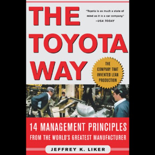 The Toyota Way audiobook cover art