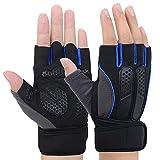 Fitness Handschuhe | Handschuhe für Fitness mit adjustable Handgelenk | Traininghandschuhe...