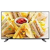 LED HD Televisión Smart TV, Televisión LCD de Internet Plana USB HDMI AV VGA RF 1080P VA Pantalla Suave Smart Android TV 32/40/43/50 Pulgadas