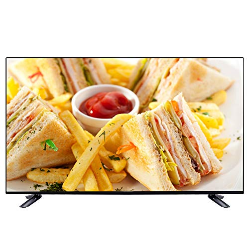 LED HD Televisión Smart TV, Televisión LCD de Internet Plana USB HDMI AV VGA RF 1080P VA Pantalla Suave Smart Android TV 32/40/43/50 Pulgadas