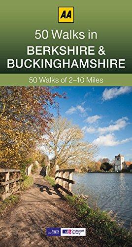 50 Walks in Berkshire & Buckinghamshire (AA 50 Walks Series)