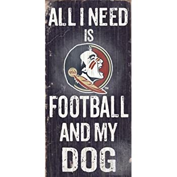 and Family Wood Sign Friends NCAA Florida Gators 6 x 12 All I Need is Football