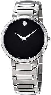 ساعة موفادو تيمو كوارتز مينا سوداء للرجال 0607292