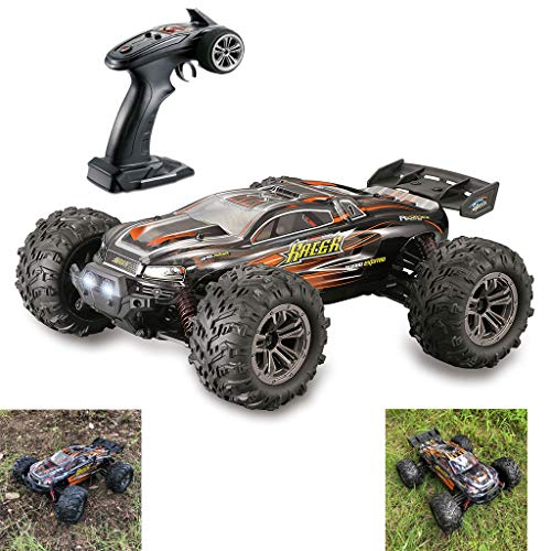【Ship from USA】Remote Control Car 1:16 Scale RC Cars 38 KM/H High Speed 16min Play for Adults and Kids,4WD Driving 2.4GHz Off Road Monster Truck Waterproof Vehicle,Toys Gifts for Boys (A-BLACK)