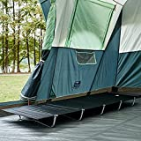 EVER ADVANCED Folding Camping Cot Ultralight Backpacking Cots with Carry Bag for Camping, Travel,...