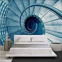 Djskhf ホテルのためのカスタム壁画現代3D次元建築のリビングルームのソファの背景の壁紙の壁紙デザイン 280X200Cm