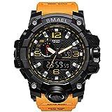 Reloj Militar para Hombre Reloj de Pulsera Impermeable de 50 m Reloj de Cuarzo LED Reloj Deportivo Reloj Deportivo Masculino Reloj de Hombre S Shock