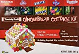 Tootsie Roll Gingerbread Cottage Kit, Contains 1/2 Pound of Candy