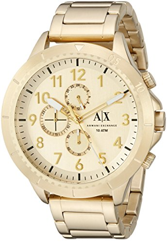 Armani Exchange Men's AX1752 Gold Watch