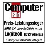 Zoom IMG-2 logitech g533 cuffie gaming wireless