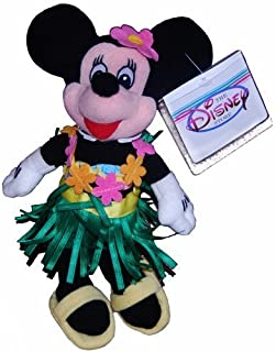 Minnie Hula Dancer - Disney Mini Bean Bag Plush