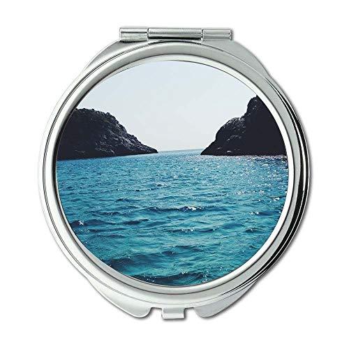 Mirror,makeup mirror,beach cc coast,pocket mirror,portable mirror