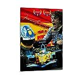 Hxinyi Fernando Alonso Poster, dekoratives Gemälde,