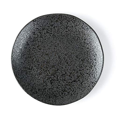 Holst Porzellan RT 326 Villeroy & Boch Re-Active Carbon-Plato llano de porcelana (27 cm)