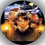 Fondant Tortenaufleger Tortenbild Geburtstag Harry Potter T23 -