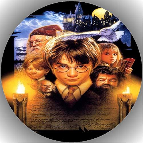 Fondant Tortenaufleger Tortenbild Geburtstag Harry Potter T23