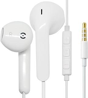 c6fe77709f9 Auriculares Alta definición con Sonido Puro y Potente bajo para iPhone  Samsung Galaxy (1Pack)