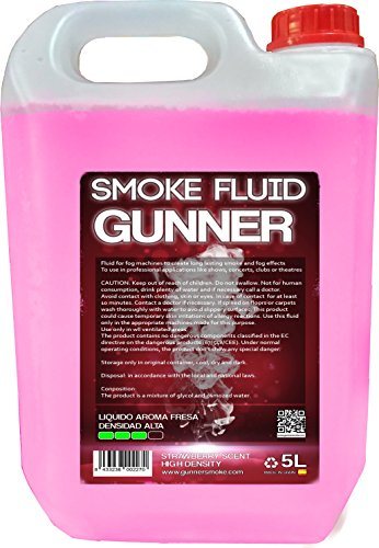 Liquido de humo de ALTA DENSIDAD olor FRESA 5L