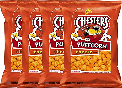 Why Choose NEW Chesters Popcorn Flaming' Hot/ Cheese Net Wt 2oz (Cheese, 4)