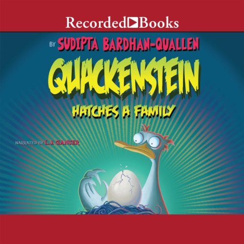Quackenstein Hatches a Family audiobook cover art