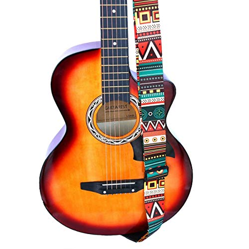 Correa Guitarra Electrica Correa para guitarra, soporte para cinturón de guitarra con...