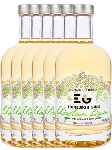 Edinburgh Gin Elderflower Gin Likör 6 x 0,5 Liter