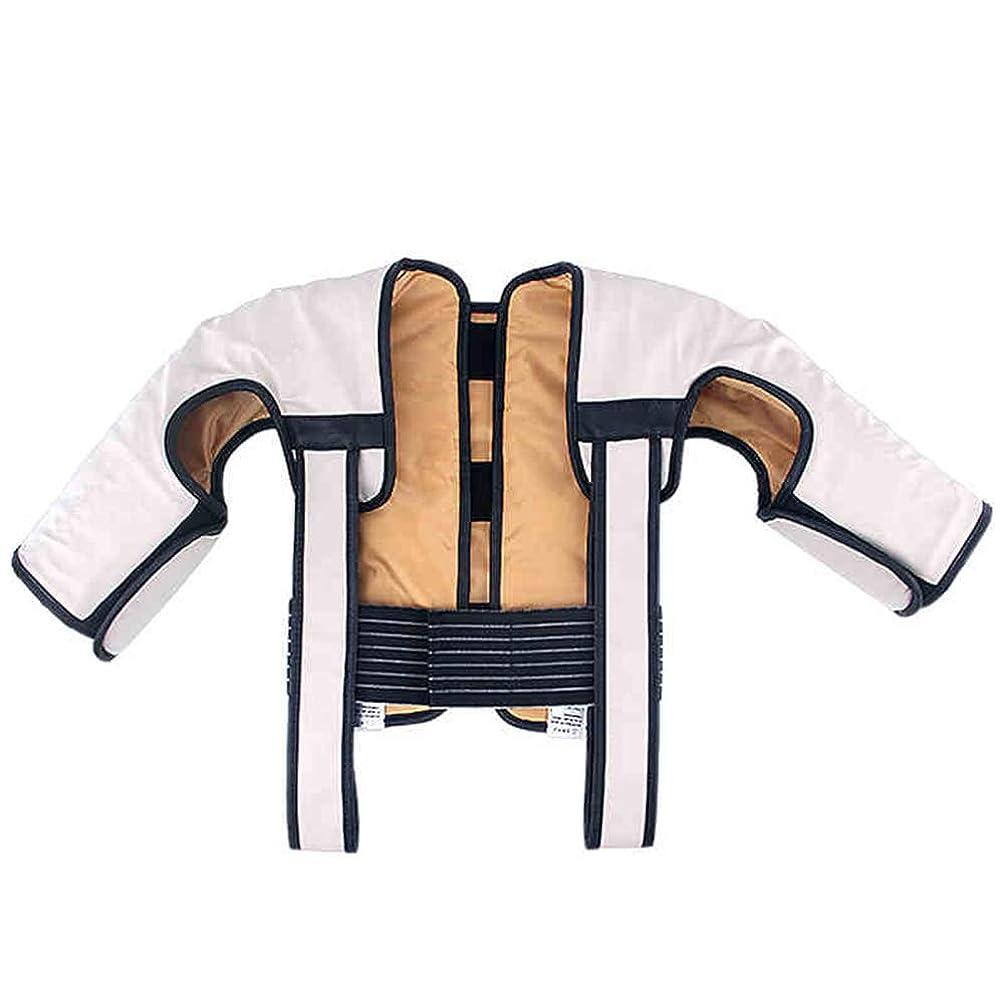 犯人リンケージ残るMEIDUO マッサージャー ホーム多機能首の肩と背中のマッサージ深い振動の熱いマッサージ 高齢者のための (色 : ベージュ)