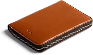 Bellroy Travel Folio (2 passports, 4-8 Cards, Boarding Passes, Cash and a Pen) - Caramel - RFID