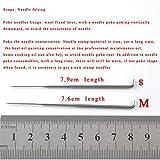 Knit 12 unids / set Número de tamaño mixto Felting Felting Fieltro Juego de botellas Kit de artesanía DIY tejido agujas Herramientas de costura Herramientas de costura Patchwork Accesorios 79-86 weave