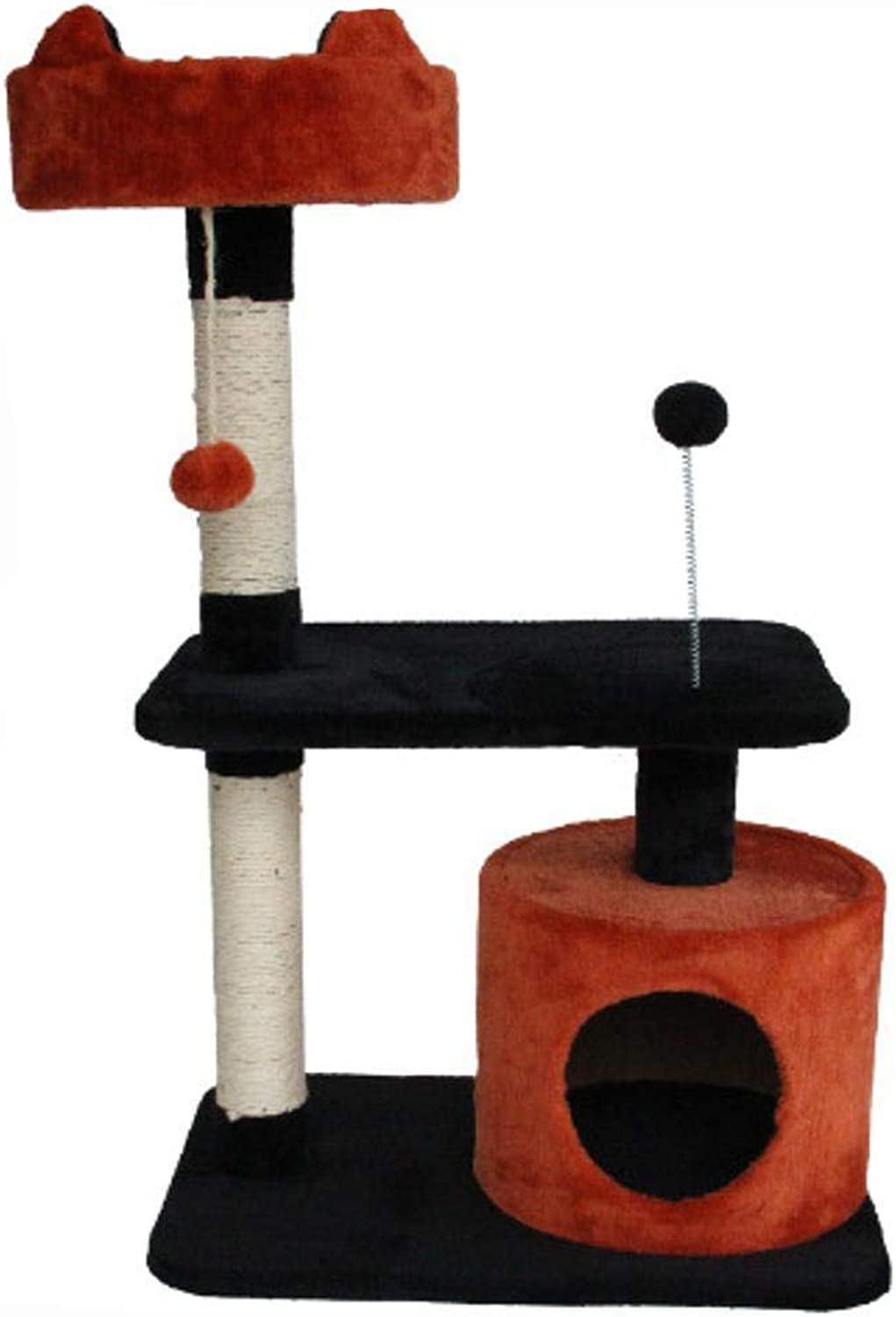 Aoligei Cat Play Towers & Trees Station Cat Tree Cat Home Pet Supplies 61  41  87cm
