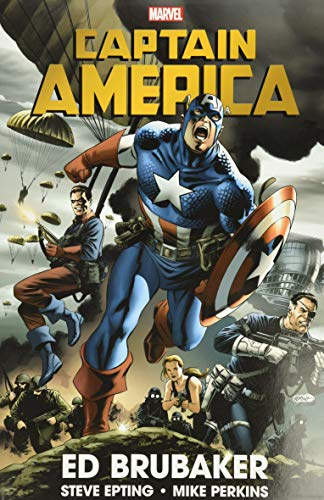 Compare Textbook Prices for Captain America By Ed Brubaker Omnibus Vol. 1 HC  ISBN 9781302927929 by Brubaker, Ed,Epting, Steve,Lark, Michael,Perkins, Mike,Weeks, Lee,Martin, Marcos