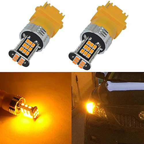 Alla Lighting Super Bright 3156 3157 LED Turn Signal Light Bulbs 2000 Lumens...