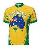Australia Cycling Jersey by World Jerseys Men's Large...