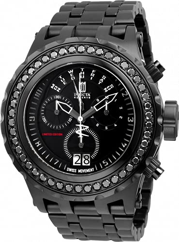 Invicta Jason Taylor 32548 Reloj para Hombre Cuarzo - 52mm - con 46 Diamantes