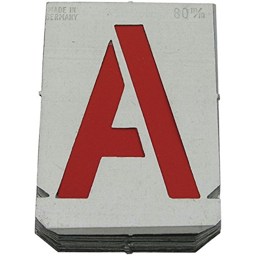 DÖNGES signaalsjablonenset cijfers letters 80 mm