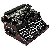 *HZAYS *Vintage Creatiu Retro Mini Màquina D'Escriure Model Decoració Antiga Màquina D'Escriure Aniversari Regals I Estil D'Art A casa Bar Metall *Crafts (24 * 18 * *12cm Cm