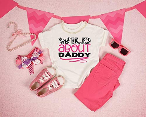 Wild about daddy Popular overseas A surprise price is realized shirt girl's