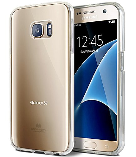 Goospery Clear Jelly for Samsung Galaxy S7 Case (2016) Slim Thin Rubber TPU Case (Clear) S7-JEL-CLR