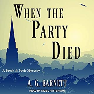 When the Party Died audiobook cover art