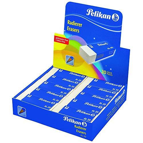 Pelikan 0ard51-plastic/Gummi zu 20weiß für Bleistift Box 20)