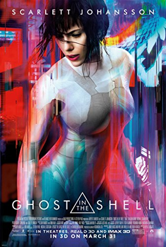 MBPOSTERS Ghost in The Shell (2017) Movie Film Plakat, Poster Plakat in Sizes
