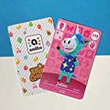No.173 Julian Animal Crossing Villager Cards Series 2. Third Party NFC Card. Water Resistant