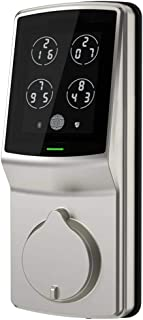 Lockly Keyless Entry Smart Lock, Door Lock (PGD 728) with Advanced Security Oriented Touchscreen Keypad, Bluetooth, Auto Lock, Battery Backup & Easy Installation NO Fingerprint (SatinNickel)