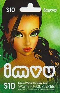 Imvu $10 Game Card